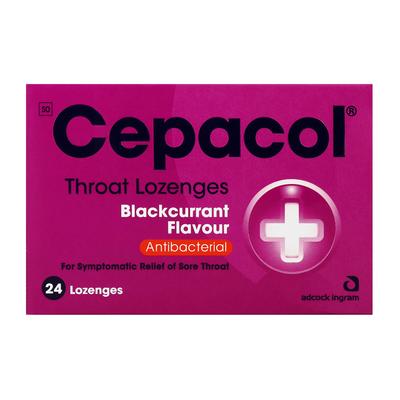 Cepacol Blackcurrant Lozenge s 24