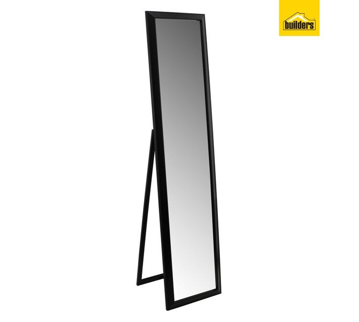 Design House Freestanding Mirror - Black (380 x 1580mm)
